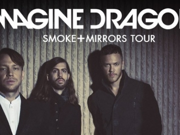 """Imagine Dragons"" turas ""Smoke + Mirrors"""