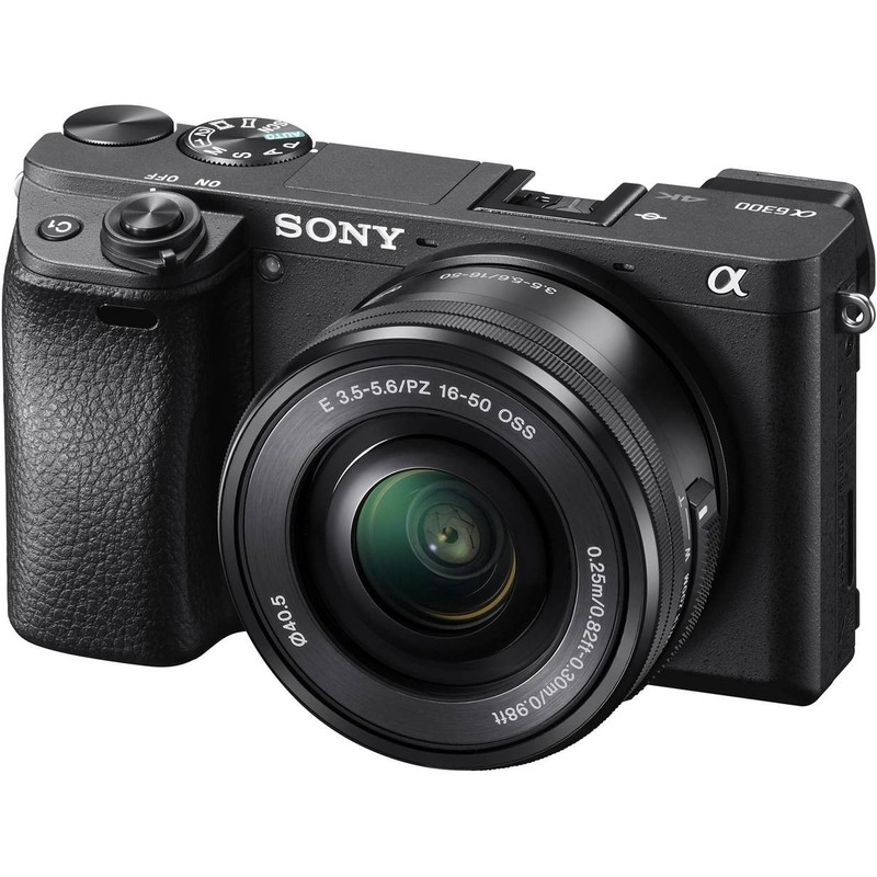 Sony a6300 front