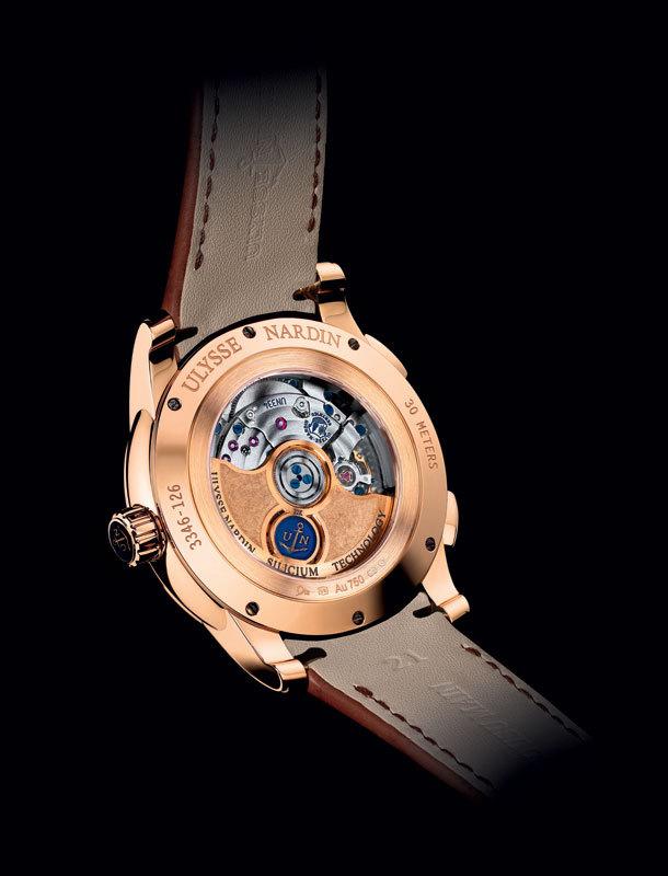 Laikrodžio nugarinei daliai taip pat skiriama daug dėmesio