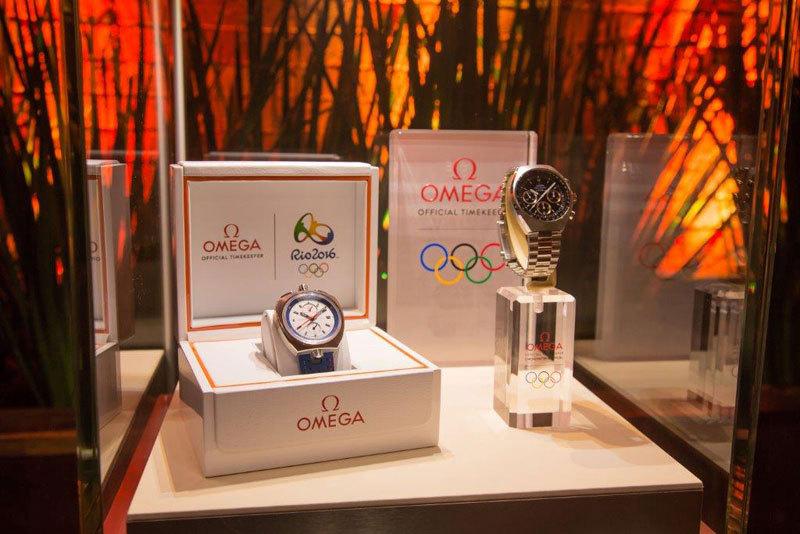 OMEGA daugelį metų remia OLIMPIADAS - oficialus laiko maatuotojas