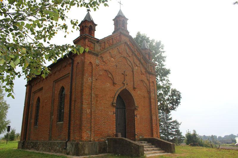 Bukaučiškių koplyčią