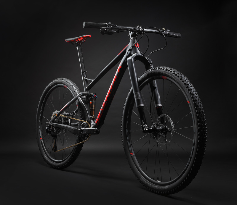 MTB XC tipo dviratis