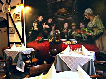 best restaurant in vilnius Bunte gans